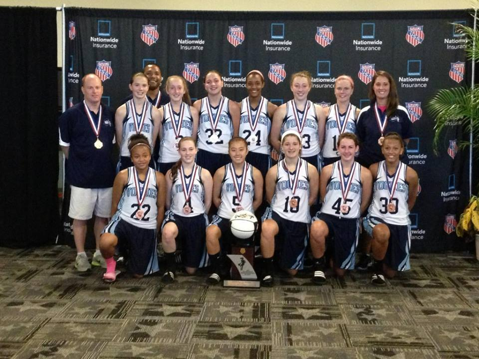 2013 Vogues 8th Grade National Team - 5th Place at AAU Div 1 National Championship