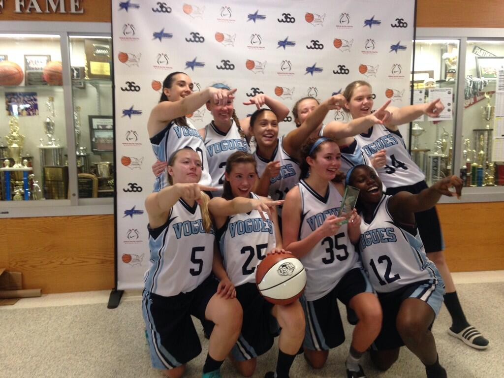 2014 10th Grade Vogues National Team - USJN Hersey Champions