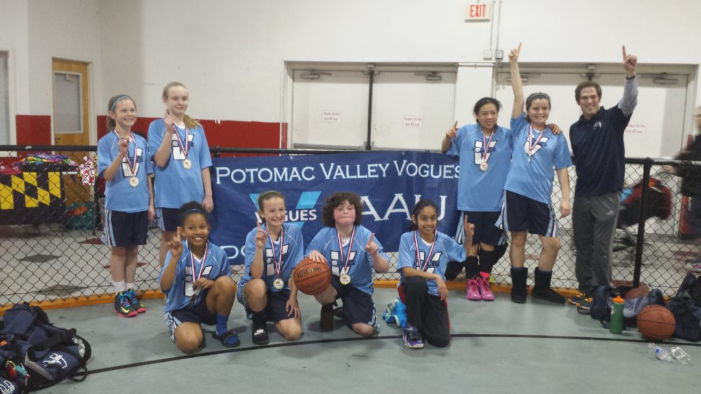 2015 Vogues 5th Grade Regional Team - Flames Run N Gun Tournament Gold Medal