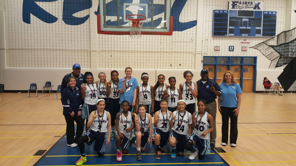 2016 6th Grade National Team - Potomac Valley AAU DQT Gold Medal